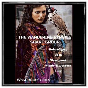 Join Us @WanderingGypsies ❤️🧚♀️⭐️🧜🏻♀️❤️